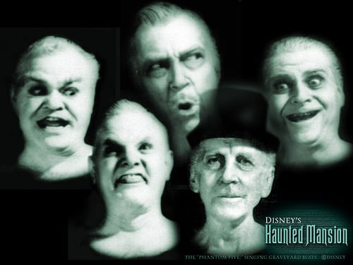 It's almost Halloween! Have a Sing-A-Long with the Haunted Mansion Busts! 1