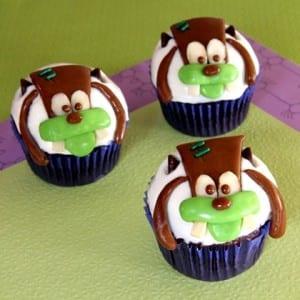 Franken-Goofy Halloween Cupcakes 11