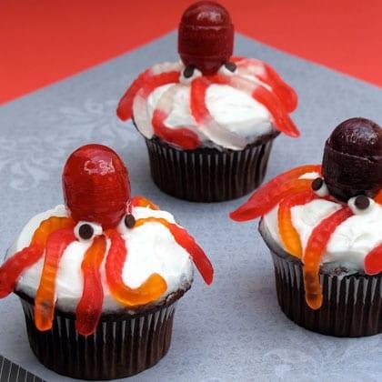 Ursula's Octopus Cupcakes ~ Recipe 1