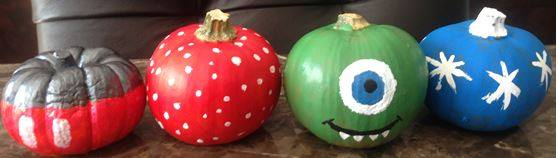 Pumpkin Painting with a Disney Spin! 3