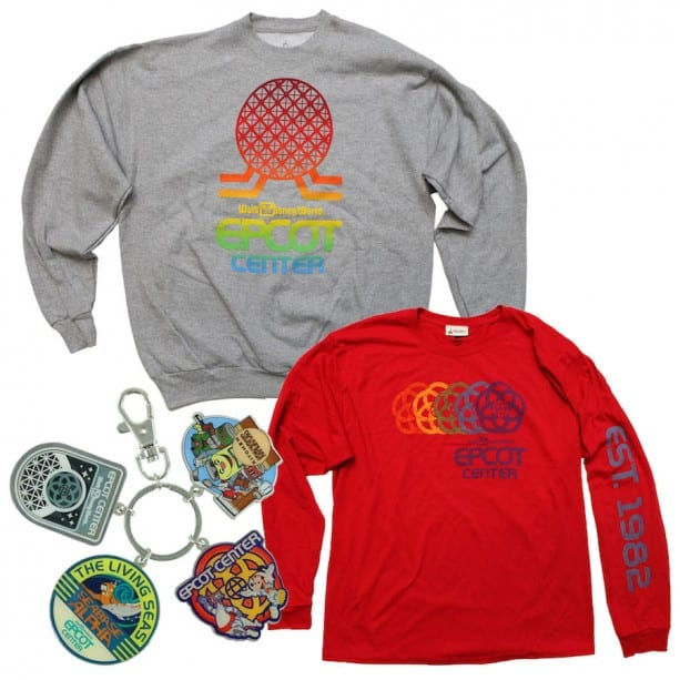 Retro EPCOT Center Merchandise Coming to Walt Disney World Resort This Month 5
