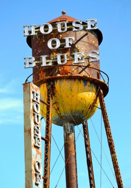 Water Tower History Stands Tall at House of Blues at Downtown Disney 4