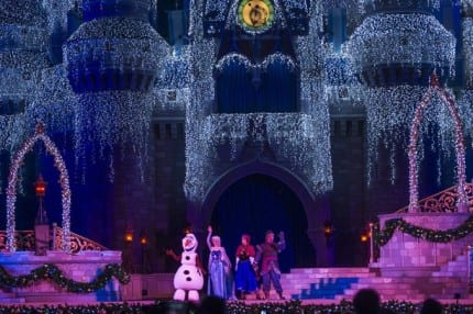 'A Frozen Holiday Wish' Live Stream Begins Disney Side Video Series 5