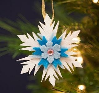 Elsa's Snowflake Ornament, How to Make it! 11