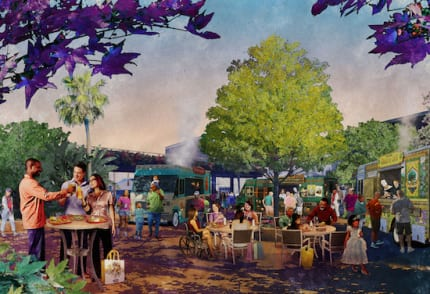 Visions of the Future Spring Up at Downtown Disney 1