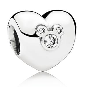 Mickey Mouse ''Heart of Mickey'' Charm