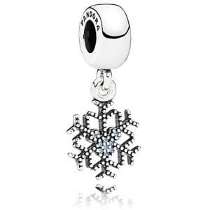 Mickey Mouse ''Mickey's Sparkling Snowflake'' Charm