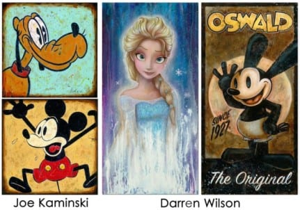 Disney Artist Showcase Coming to Art of Disney at Downtown Disney Marketplace in November and December 1