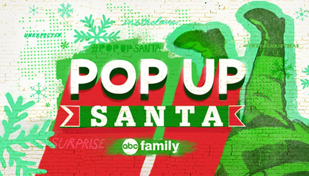 ABC Family's #PopUpSanta Surprise Giveaways Sweeping the Nation 2