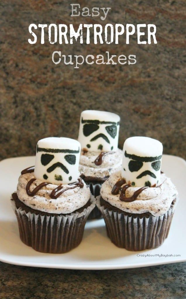 Easy Stormtrooper Cupcakes! 6