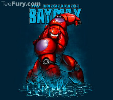 Baymax Has Come To TeeFury In Today's TwoFury Competition 3