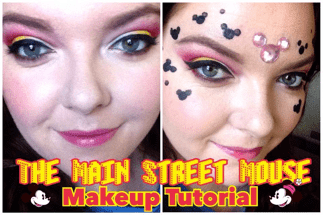 The Main Street Mouse Inspired Eye Makeup Tutorial 1
