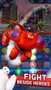 Battle through San Fransokyo in New Big Hero 6 Bot Fight App 3
