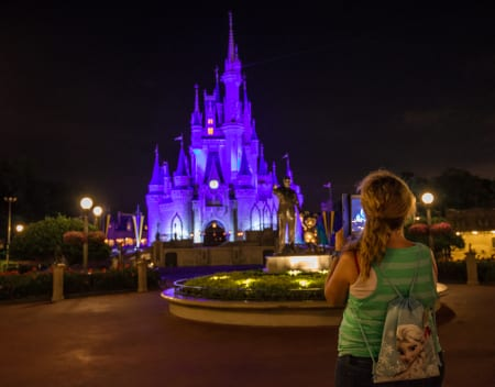 "Have you seen the ""Kiss Goodnight"" at the Magic Kingdom? 5"