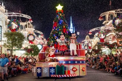 Watch 'Mickey's Once Upon A Christmastime Parade' Live from Walt Disney World 7