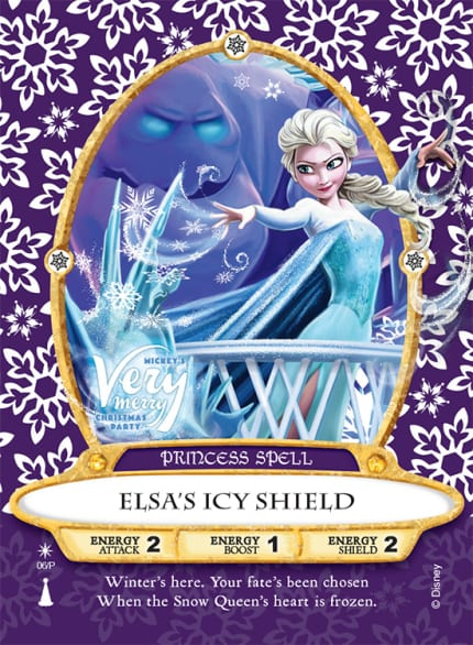 'Elsa' Sorcerers of the Magic Kingdom Card To Be Released At Mickey's Very Merry Christmas Party 5