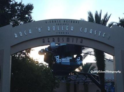 Disney from a Teen's Perspective: Rock n Roller Coaster 8