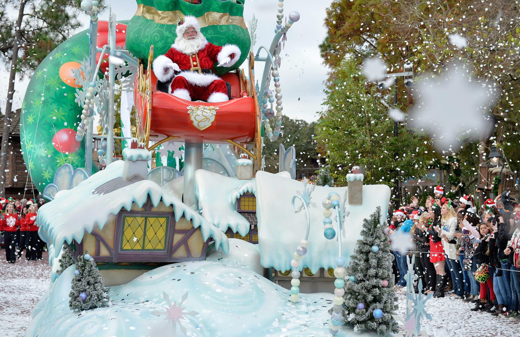 disney parks frozen christmas celebration tv special - Disney Christmas Day Parade