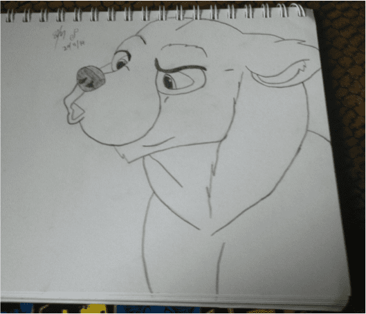 How to Draw: Kenai From Brother Bear 2