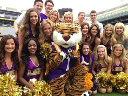 LSU Tigers Show Their 'Spirit' In Cheer On Your Disney Side Contest 8