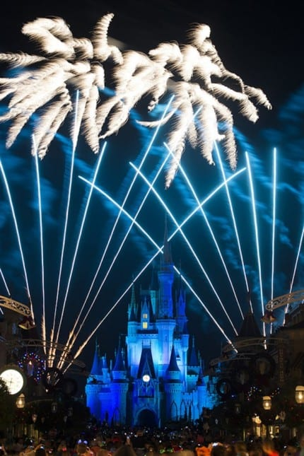 Watch New Year's Eve Fireworks Live at Magic Kingdom Park 1