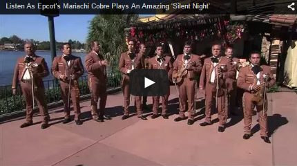 Listen As Epcot's Mariachi Cobre Plays An Amazing 'Silent Night' 2