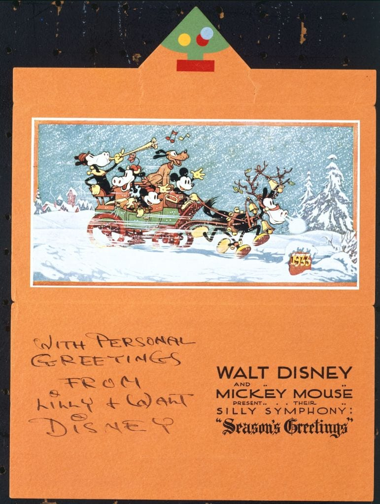 Seasons Greetings From The Walt Disney Company 3