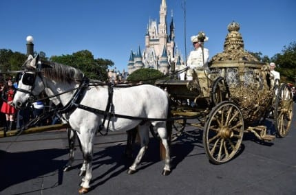 Magic Kingdom Park Welcomes the Golden Coach from 'Cinderella' 1