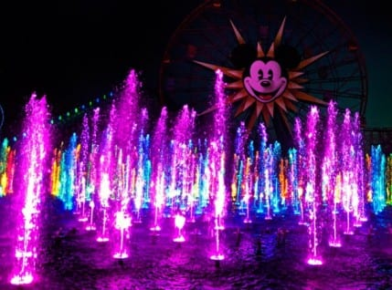 'World of Color' Refurbishment Continues Innovative Approach for Conservation in Water Attractions at Disneyland Resort 8