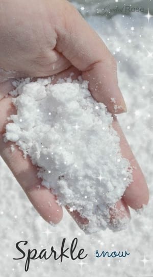 Make Your Own Sparkle Snow ~ Recipe 5
