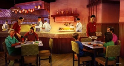 In True Disney Fashion, the Story of Trattoria al Forno at Disney's BoardWalk 26