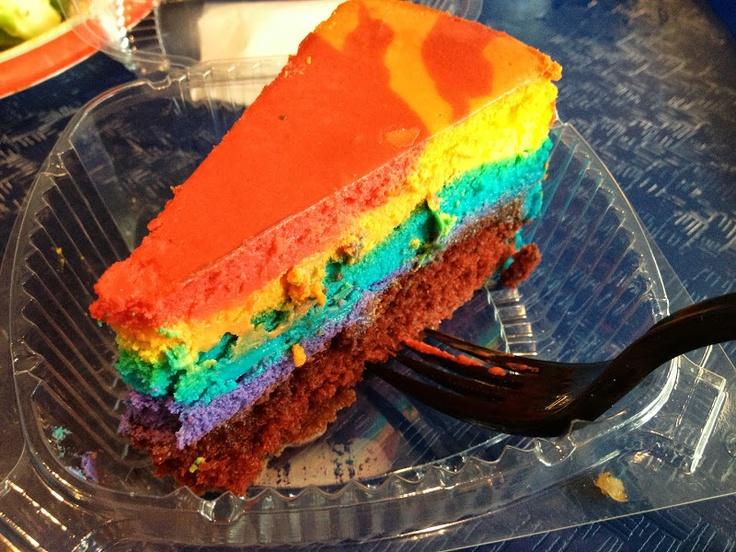 Pop Century Resort Tie-Dyed Cheesecake Recipe 2