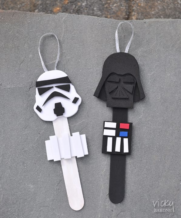 Star Wars Inspired Ornaments ~ Craft 4