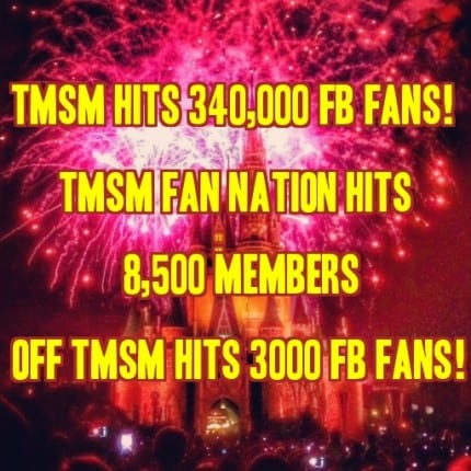 TMSM Has a Milestone Day.... And YOU to Thank for It! 3
