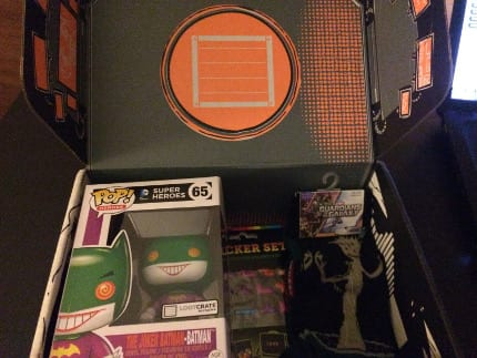 December 2014 LootCrate Review – Theme: Anniversary 10