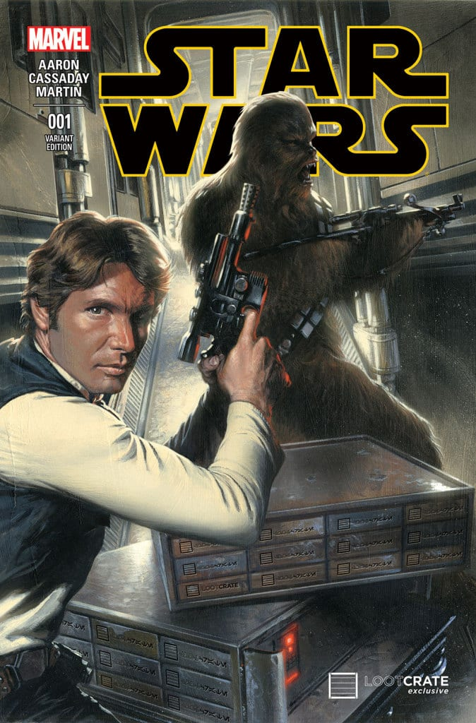 Loot Crate's Star Wars #1 Variant – EXCLUSIVE REVEAL! 9