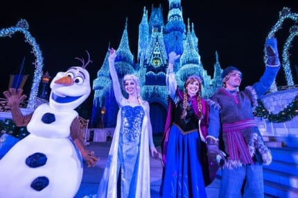 More Chances to See 'A Frozen Holiday Wish' at Magic Kingdom Park 10