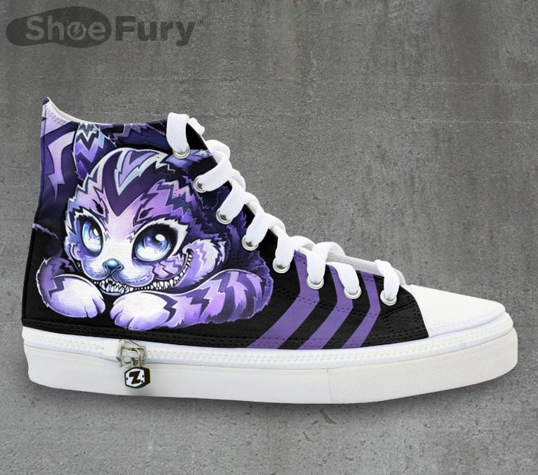 Cheshire Cat Is On My Feet!!! 1