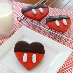 Disney Valentine Cookies ~ Recipe 1