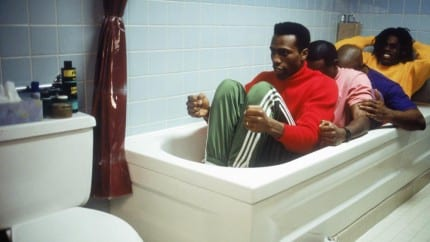 Cool-Runnings-practicing-in-the-bathtub