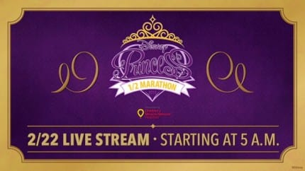 "Share In The Magic With ""Live"" Stream of the Disney Princess Half Marathon 4"