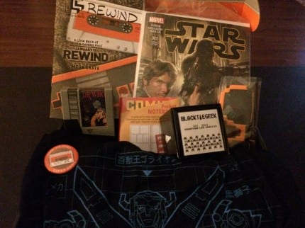 January 2014 Loot Crate Review - Theme: Rewind 8
