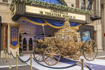 Golden Carriage from 'Cinderella' Arrives at Disney's Hollywood Studios 1