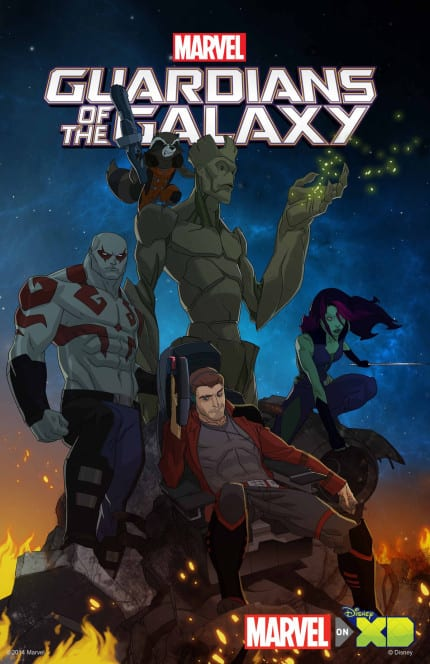 Full Voice Cast Announced for Animated Marvel's Guardians of the Galaxy Series 10