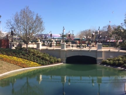 More Walls Come Down at the Magic Kingdom, Get a View of the New Hub! 1