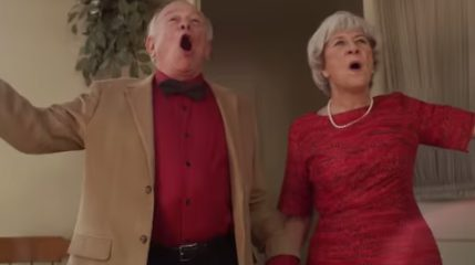 "These Real-life Grandparents Singing ""Love is an Open Door"" Will Melt Your Heart 2"