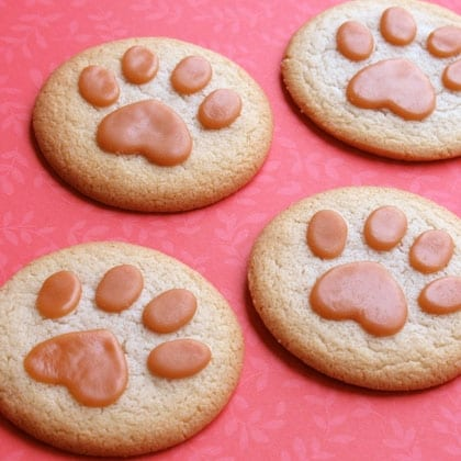 Lion King Paw Print Cookies ~ Recipe! 5