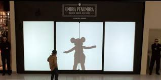 Shadows of Favorite Disney Characters Surprise New York Shoppers 1