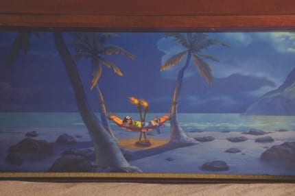 A Secret Sleeper Bed at Disney's Polynesian Villas & Bungalows 6