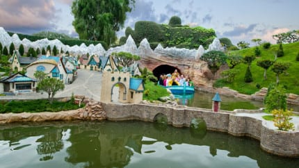 Take a Little Trip on Storybook Land Canal Boats at Disneyland Park 1